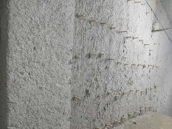 幕墙无机纤维喷涂